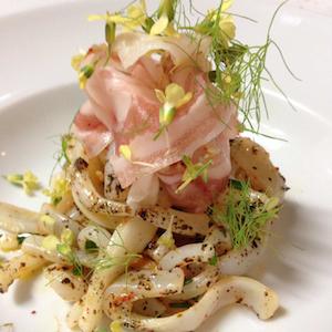 squid Kintoa bacon